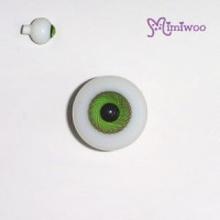 TE20HB08 Super Dollfie SD DD Obitsu Hujoo 20mm Glass Eye Green