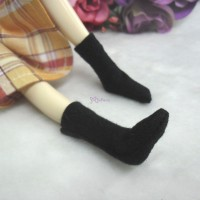 1/6 Bjd Doll Long Socks Black TPD119BLK