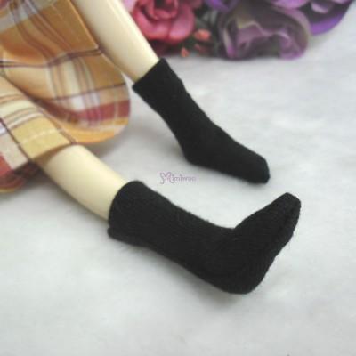 1/6 Bjd Doll Long Socks Black TPD119BLK