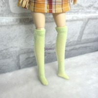 Blythe Pullip Hujoo Obitsu 1/6 Doll Long Socks Green TPD119GRN