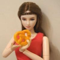 TPS024EUR Food Miniature Mini Europe Bread (Spongy Feeling)
