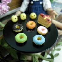 TPS034DUG 1/6 Bjd Food Miniature Mini Doughnut (5 colors)