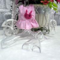 1/6 Bjd Doll Clear Hard Plastic Hanger Torso (5pcs) TPS039CLR