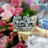 1/6 Bjd Doll Metal Costume Mini Royal Crown Silver TPS043SLR