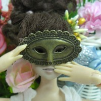 1/6 Bjd Doll Mini Metal Costume Eye Mask Apollo Copper TPS047CPR
