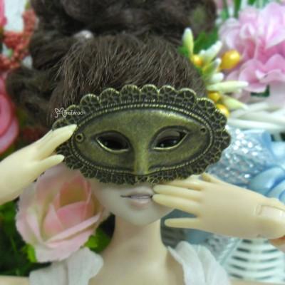 1/6 Bjd Doll Mini Metal Costume Eye Mask Apollo Copper TPS047CPR