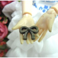 1/6 Bjd Mini Butterfly Bow Antique Brass (5pcs) TPS049CPR