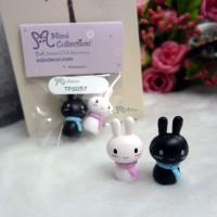 Blythe Momoko Miniature Mini Resin Animal Bunny (PAIR) TPS057