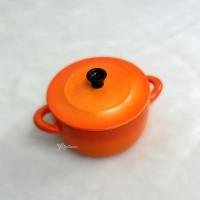 Blythe 1/6 Bjd Doll Miniature Mini Cooking Pot + Lid TPS083RAE
