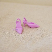 TPS114PUE Obitsu 27cm Female Momoko Doll Shoes High Heel Purple