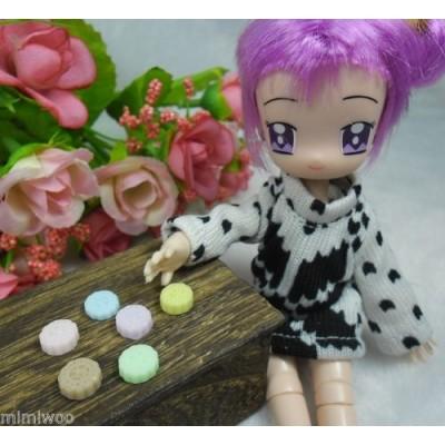 1/6 Bjd Doll Food Miniature Mini Moon Cake (6pcs) TPS124