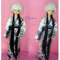 TSW027WHE Super Dollfie SD13 Luts Fur Wig WHE Hair BLK Extension