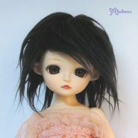 TUW001BLK Yo-SD Angel Fantasy Baby Doll 6-7
