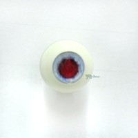 VA16C01 MSD 1/4 Bjd Round Acrylic Meta Doll Eye 16mm Blue Red