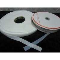 DIY Material Thin Velcro Tape Set White 2cm x 50 meter VEL-2
