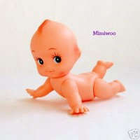 Obitsu Kewpie Baby 15cm Body Painted Eye Crawn Doll QP-H150