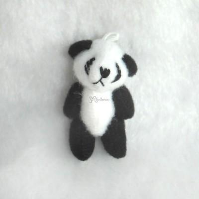 WAB005PA 1/6 BJD Doll 4cm Mini Plush Panda