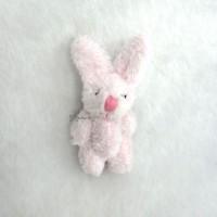 WAB010PNK 1/6 Momoko Blythe 6cm Mini Plush Bunny Rabbit Pink