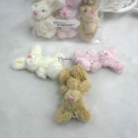 WAB010SET 1/6 Momoko Blythe 6cm Mini Plush Bunny Rabbit 3pcs
