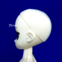 "WCM002 5-6"" Silicon Wig Cap for Doll Head Protection Cover"