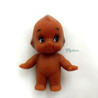 WSB003BRN Kewpie Standing Baby 5cm Tall Mini Figure Brown