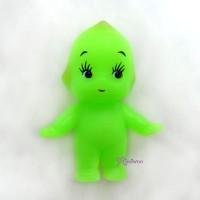 WSB003GRN Kewpie Standing Baby 5cm Tall Mini Figure Green