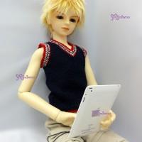YC0028WHE Super Dollfie SD Doll Mini Tablet PC ipad Mirror White