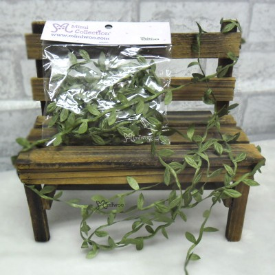 YC0051GRN Artificial Silk Flower & Leaf Miniature Mini Rock Vine