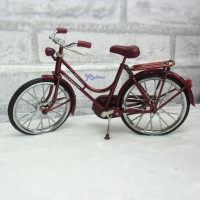 1/6 Bjd Doll Miniature Mini Bicycle RED YC0069RED