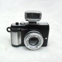 YC0075BLK Bjd Miniature Mini Camera w Sound & Light Black
