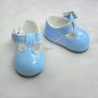 Monchhichi S Size MCC Taeyang Doll Shoes Mary Jane BLUE YK04BLE