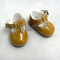 Monchhichi S Size MCC Taeyang Doll Shoes Mary Jane BROWN YK04BRN