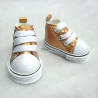 Yo-SD Obitsu 28cm Male Taeyang PU Leather Shoes Orange SHH012XRE