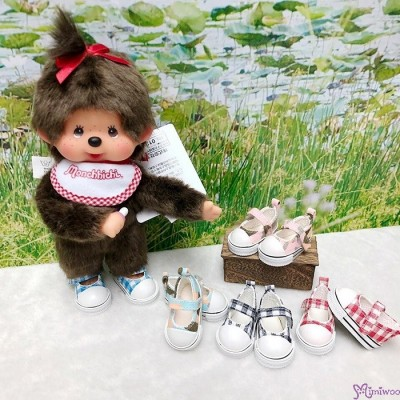 Yo-SD bjd Doll MCC Maryjane Denim Shoes Hiking Pink SHU052WPK