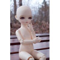 ABS-ROSE HUJOO & Fallindoll 26.5cm ABS ROSE Nude Bjd Doll