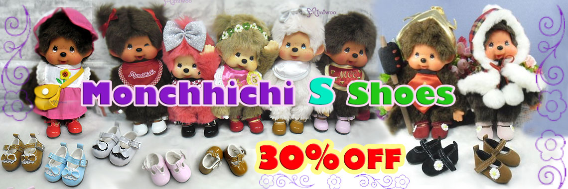 Monchhichi S shoes ~ 30% OFF