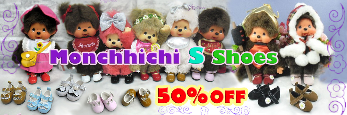 Shoes for Monchhichi S ~ 50% OFF