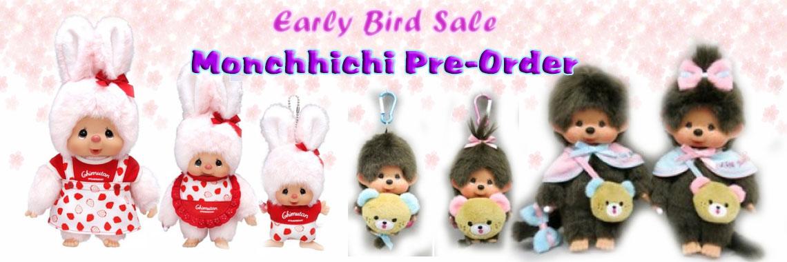 Monchhichi Pre-Order