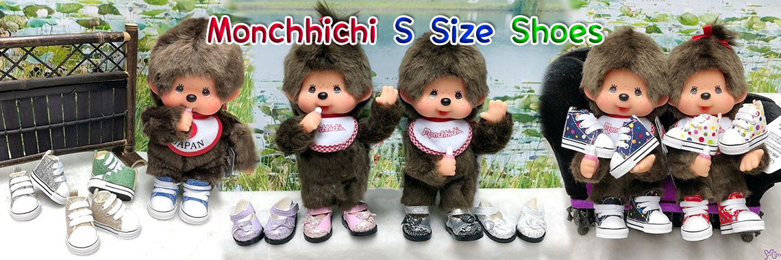 Monchhichi Shoes S-size