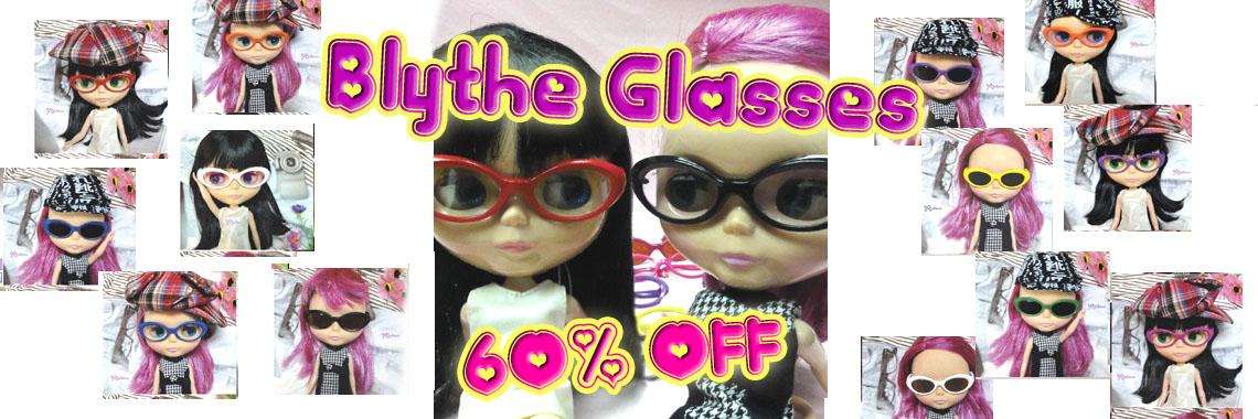Blythe Glasses ~ 60% OFF