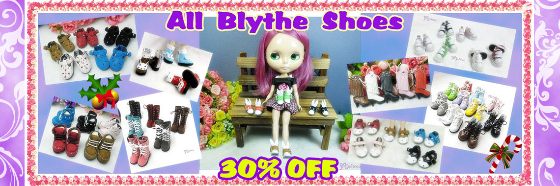 Shoes for Blythe ~ 30% OFF
