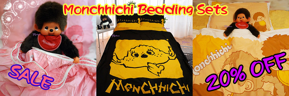Monchhichi Bedding Set - 20% OFF