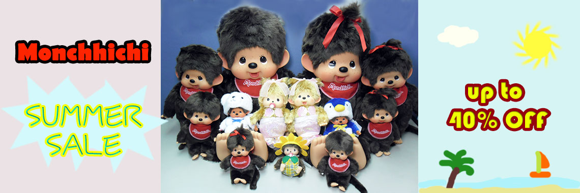 Monchhichi Sale up to 40% OFF