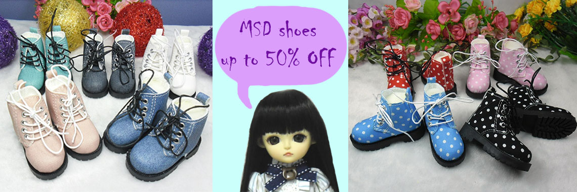 MSD shoes up to 50% OFF