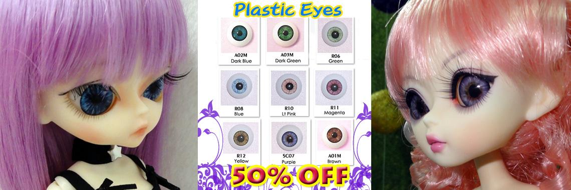 Plastic Eyes - 50% OFF