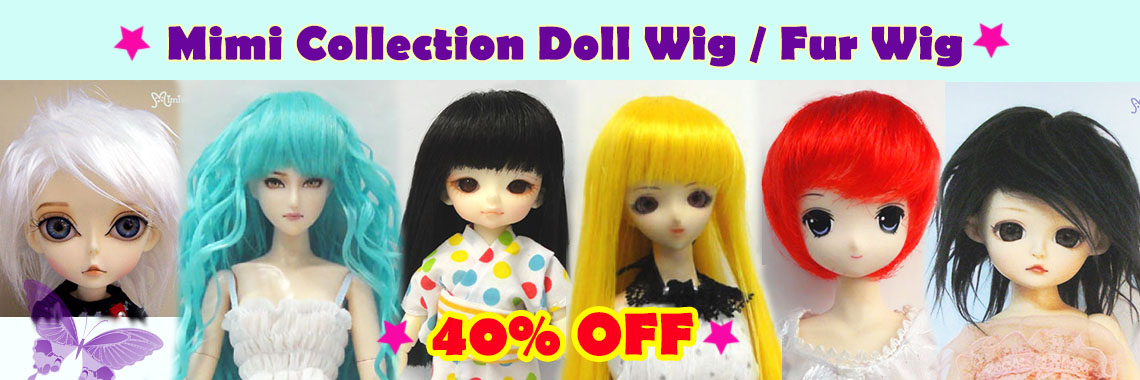 Doll Wigs ~ 40% OFF