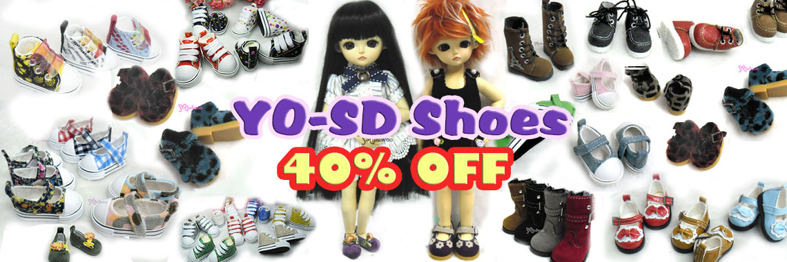 YoSD Shoes ~ 40% OFF