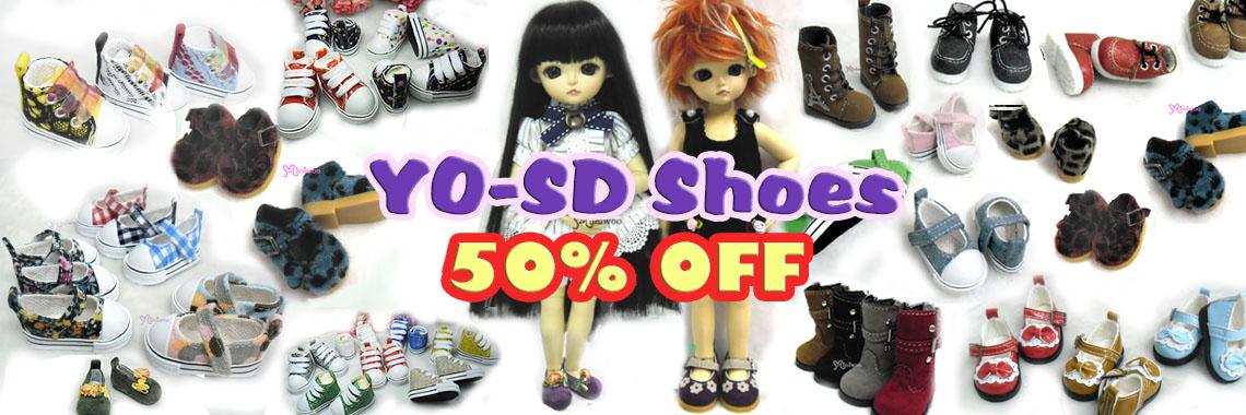 Yo-SD shoes ~ 50% OFF