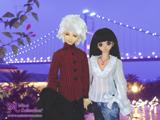 Date under bridge