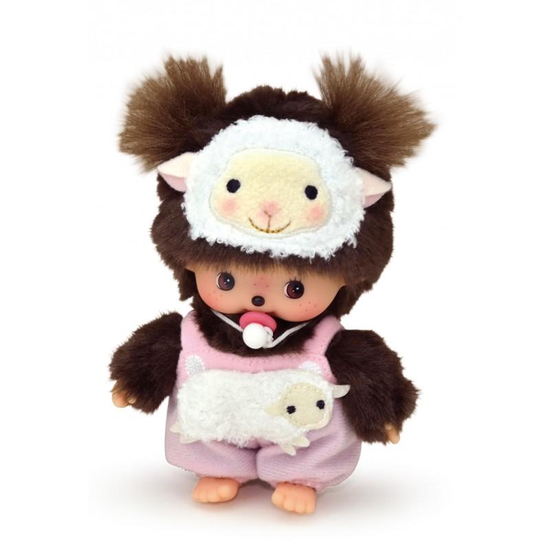 Sekiguchi Monchhichi Bebichhichi BBCC Plush Year of Sheep 201520